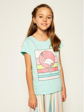 Billieblush Billieblush T-shirt U15724 Blu Regular Fit