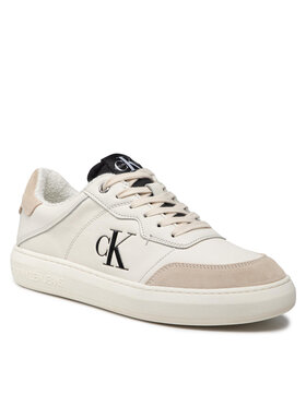 Calvin Klein Jeans Calvin Klein Jeans Sneakersy Cupsole Laceup Casual Warm YM0YM00283 Beżowy