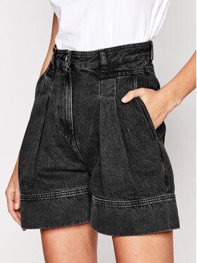 IRO IRO Szorty jeansowe Tryfin WP30 Czarny Regular Fit