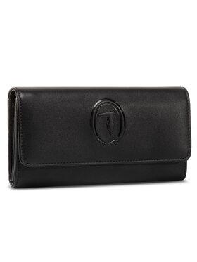 Trussardi Jeans Trussardi Jeans Velká dámská peněženka Lisbona Continental 75W00244 Černá