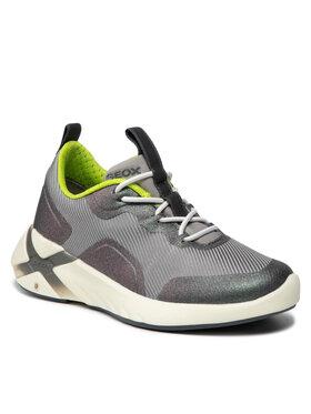 Geox Geox Sneakersy J Playkix B. A J04DDA 011BC C1695 M Sivá