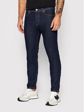 United Colors Of Benetton United Colors Of Benetton Jeansy 4DHH57BC8 Tmavomodrá Slim Fit