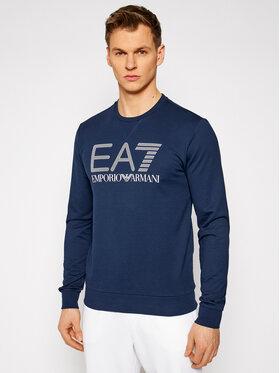 EA7 Emporio Armani EA7 Emporio Armani Felpa 3KPM60 PJ05Z 1554 Blu scuro Regular Fit