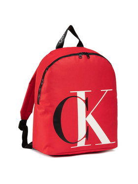 Calvin Klein Calvin Klein Hátizsák Explored Monogram Backpack IU0IU00152 Piros
