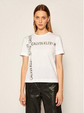 Calvin Klein Jeans Calvin Klein Jeans T-Shirt J20J214236 Weiß Regular Fit