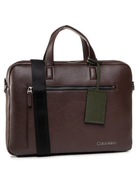 Calvin Klein Calvin Klein Чанта за лаптоп Ck Qt Pocket Laptop K50K505692 Кафяв