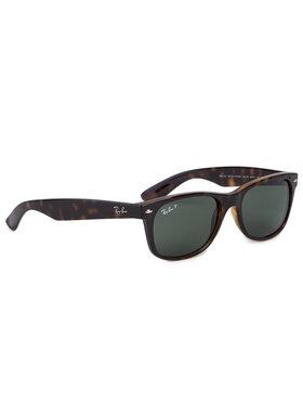 Ray-Ban Ray-Ban Okulary przeciwsłoneczne New Wayfarer 0RB2132 902/58 Brązowy