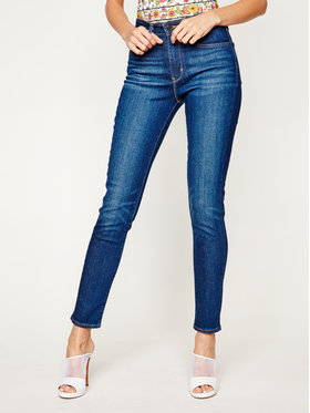 Levi's Levi's jeansy_skinny_fit 721™ High Rise 18882-0330 Tamsiai mėlyna Skinny Fit
