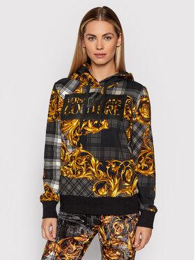 Versace Jeans Couture Versace Jeans Couture Суитшърт 71HAI3A8 Черен Regular Fit