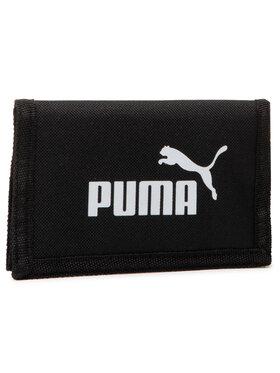 Puma Puma Duży Portfel Męski Phase Wallet 075617 01 Czarny