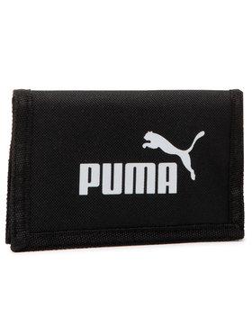 Puma Puma Veľká pánska peňaženka Phase Wallet 075617 01 Čierna