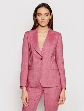 Weekend Max Mara Weekend Max Mara Żakiet Anania 50410411 Różowy Regular Fit