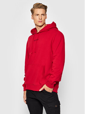 Guess Guess Μπλούζα Roy M0GQ03 R44Q7 Κόκκινο Regular Fit