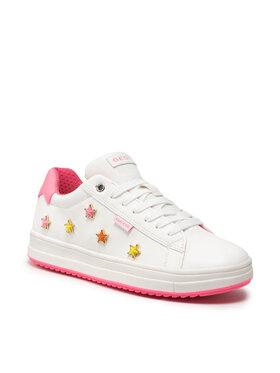 Geox Geox Sneakersy J Rebecca G. A J15BDA 000BC C0563 D Biały