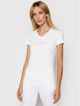 Emporio Armani Underwear Emporio Armani Underwear Marškinėliai 163321 1P223 00010 Balta Regular Fit