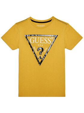 Guess Guess Marškinėliai L73I55 K5M20 Geltona Regular Fit