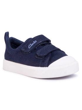 Clarks Clarks Sneakers City Bright T 261490877 Bleu marine