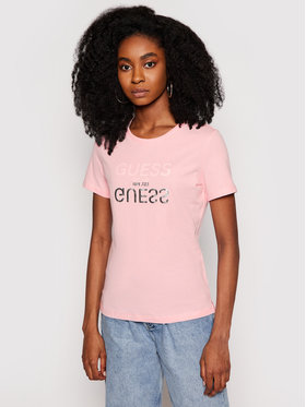 Guess Guess T-shirt Glenna W1GI0C I3Z11 Rose Regular Fit
