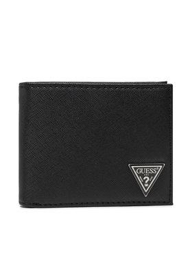Guess Guess Veľká pánska peňaženka Certosa Slg SMCERT LEA24 Čierna