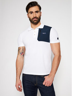 North Sails North Sails Polokošeľa PRADA Otara 452019 Biela Regular Fit