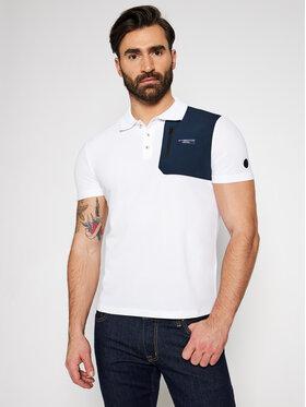 North Sails North Sails Тениска с яка и копчета PRADA Otara 452019 Бял Regular Fit