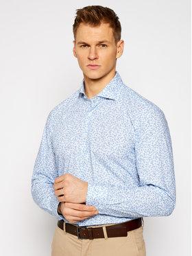 Baldessarini Baldessarini Košile Henry 10007/1000/6010 Modrá Tailored Fit