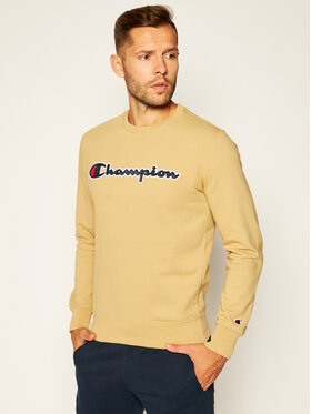 Champion Champion Bluză Satin Script Logo 214188 Maro Comfort Fit