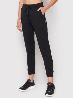 Outhorn Outhorn Teplákové kalhoty SPDD601 Černá Regular Fit