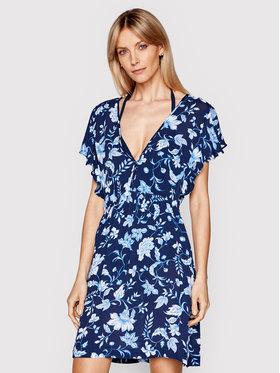 Lauren Ralph Lauren Lauren Ralph Lauren Плажна рокля LR1SC39E Тъмносин Regular Fit