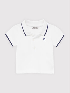 Mayoral Mayoral Tricou polo 190 Alb Regular Fit