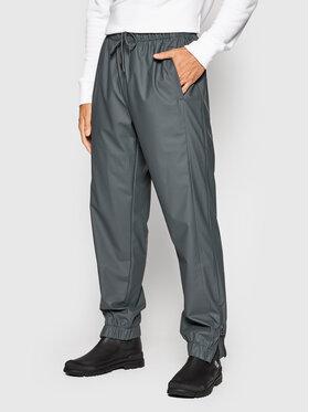 Rains Rains Pantalon imperméable Unisex 1279 Gris Regular Fit