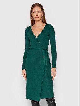 Guess Guess Džemper haljina Everly W0RK51 R2BF3 Zelena Regular Fit