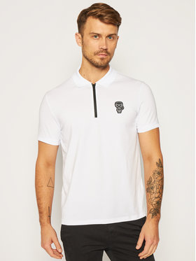 KARL LAGERFELD KARL LAGERFELD Tricou polo 745 080 502 221 Alb Regular Fit