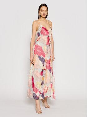Liu Jo Liu Jo Sukienka letnia IA1101 T2461 Kolorowy Regular Fit