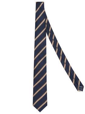 Tommy Hilfiger Tailored Tommy Hilfiger Tailored Krawatte Stripe Blend TT0TT07669 Dunkelblau