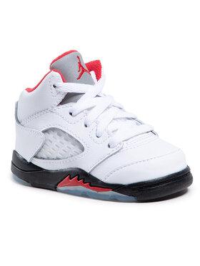 Nike Nike Buty Jordan 5 Retro (Td) 440890 102 Biały