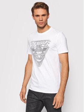 Guess Guess T-Shirt M1YI76 J1311 Biały Regular Fit