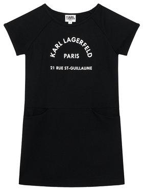 KARL LAGERFELD KARL LAGERFELD Každodenné šaty Z12171 M Čierna Regular Fit