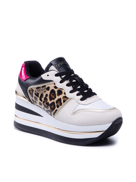 Guess Guess Sneakersy Hektore2 FL7H2E PEL12 Beżowy