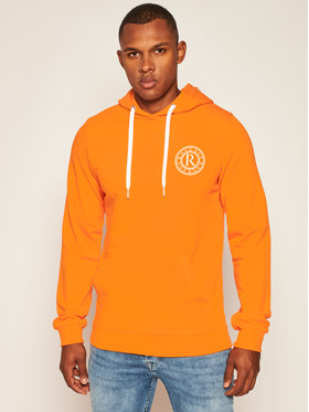 Rage Age Rage Age Sweatshirt Hooddie 1 Orange Slim Fit