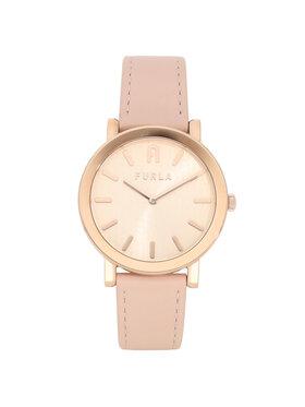 Furla Furla Zegarek Minimal Shape WW00003-VIT000-1BR00-1-008-20-CN-W Różowy