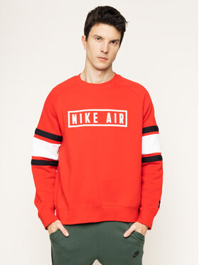 NIKE NIKE Sweatshirt Nsw Crew BV5156 Rot Loose Fit