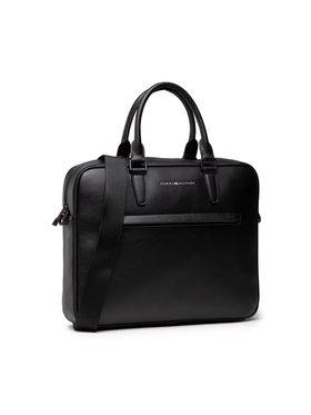 Tommy Hilfiger Tommy Hilfiger Чанта за лаптоп Metro Slim Computer Bag AM0AM07544 Черен
