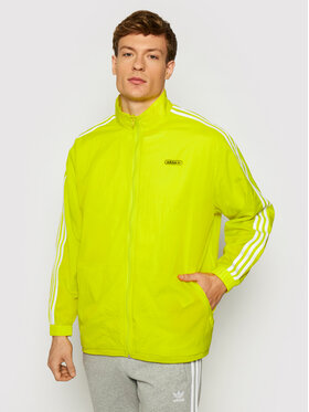 adidas adidas Giacca di transizione Reverse Track GN3818 Giallo Regular Fit