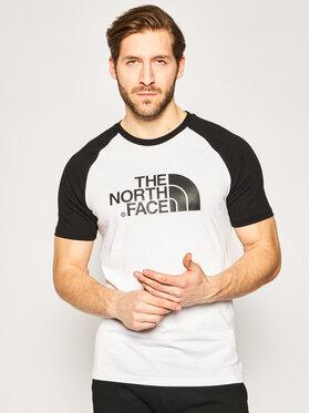 The North Face The North Face T-shirt Raglan Easy Tee NF0A37FVLA91 Bijela Regular Fit