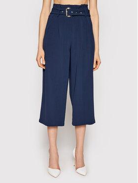 MICHAEL Michael Kors MICHAEL Michael Kors Kalhoty culottes Cameron MS1301RENX Tmavomodrá Oversize