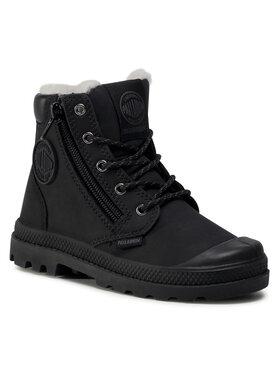 Palladium Palladium Ορειβατικά παπούτσια Pampa Hi Cuff Wps 53477-040-M Μαύρο