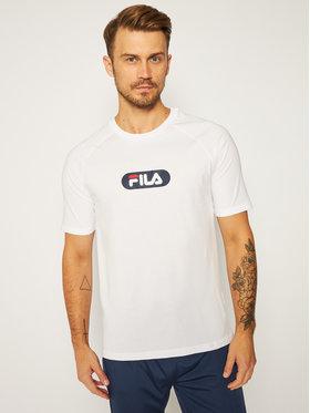 Fila Fila Marškinėliai Bane Raglan 687962 Balta Regular Fit