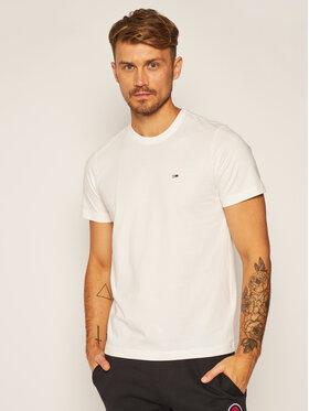 Tommy Jeans Tommy Jeans T-shirt Classic DM0DM09598 Blanc Regular Fit