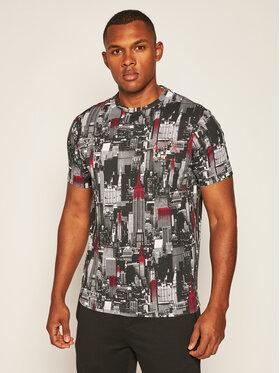Armani Exchange Armani Exchange T-Shirt 6HZTGA ZJH4Z 8154 Schwarz Regular Fit